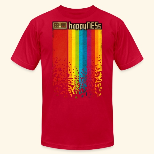 happyNESs - Unisex Jersey T-Shirt by Bella + Canvas