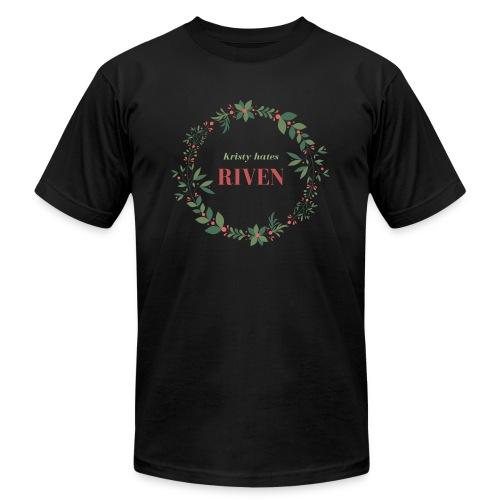 Kristy hates Riven - Men's Jersey T-Shirt