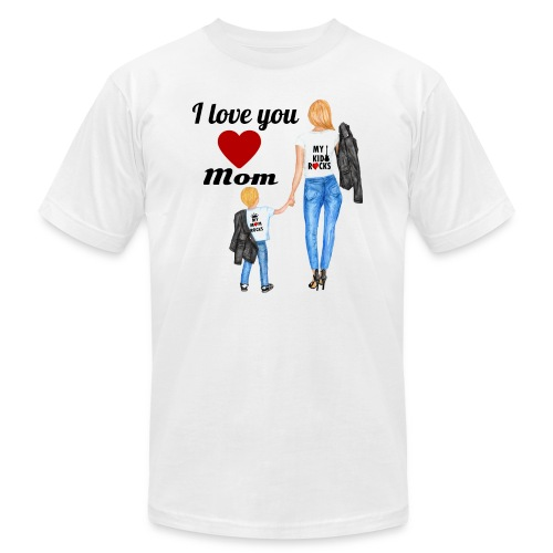 Mother's day gift from daughter, Mother's Day Gift - Unisex Jersey T-Shirt by Bella + Canvas