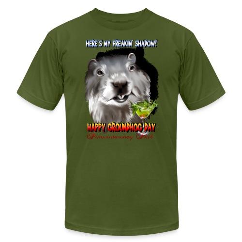 Punxsutawney Phil's Shadow - Unisex Jersey T-Shirt by Bella + Canvas