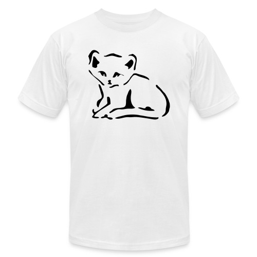 Kitty Cat - Unisex Jersey T-Shirt by Bella + Canvas