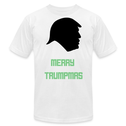 Merry Trumpmas Green - Unisex Jersey T-Shirt by Bella + Canvas