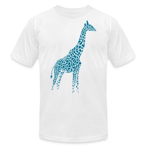 giraffe afrika serengeti camelopard safari zoo - Unisex Jersey T-Shirt by Bella + Canvas