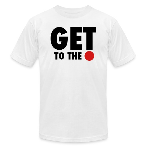 get to the point 6 - Unisex Jersey T-Shirt by Bella + Canvas