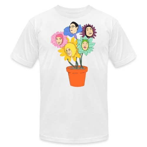 filthyflowers - Unisex Jersey T-Shirt by Bella + Canvas