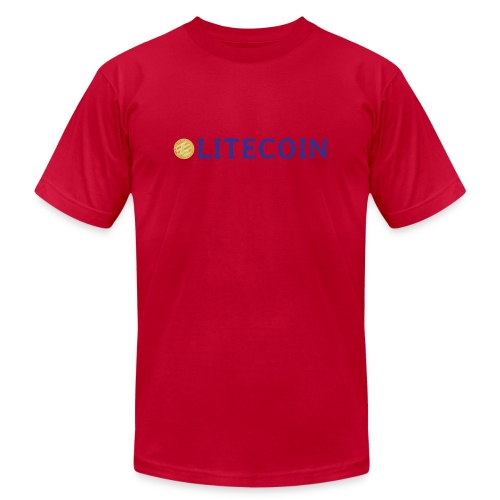 Litecoin - Unisex Jersey T-Shirt by Bella + Canvas
