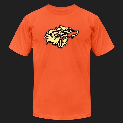 wolfepacklogobeige png - Unisex Jersey T-Shirt by Bella + Canvas