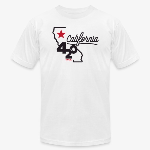 California 420 - Unisex Jersey T-Shirt by Bella + Canvas