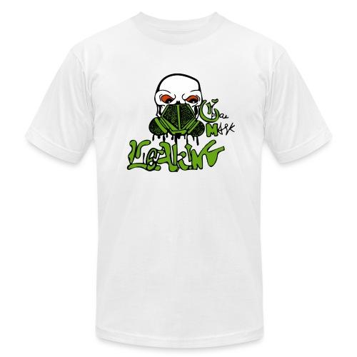 Leaking Gas Mask - Men's Jersey T-Shirt