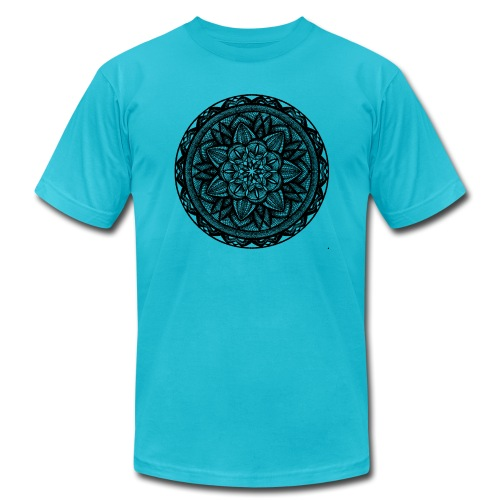 Circle No.2 - Unisex Jersey T-Shirt by Bella + Canvas