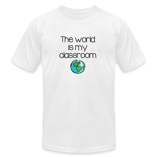 World Classroom - Unisex Jersey T-Shirt by Bella + Canvas