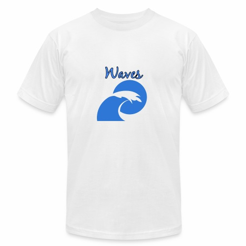Waves - Unisex Jersey T-Shirt by Bella + Canvas