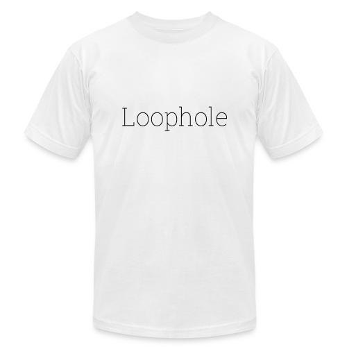 Loophole Abstract Design - Unisex Jersey T-Shirt by Bella + Canvas