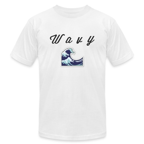 Wavy Abstract Design. - Unisex Jersey T-Shirt by Bella + Canvas