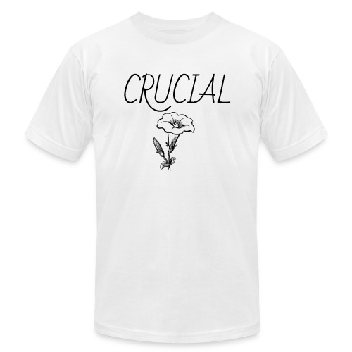 Crucial Abstract Design - Unisex Jersey T-Shirt by Bella + Canvas