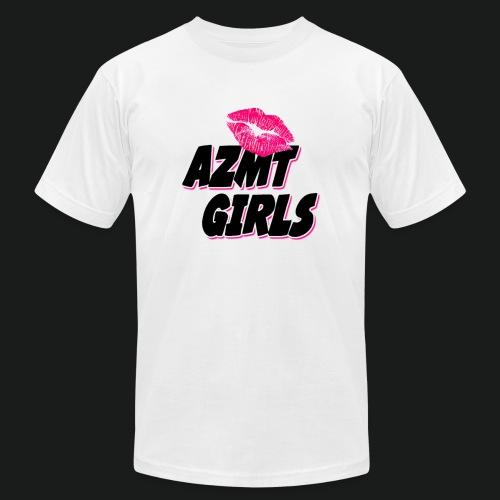 azmt girls logo #2 - Unisex Jersey T-Shirt by Bella + Canvas