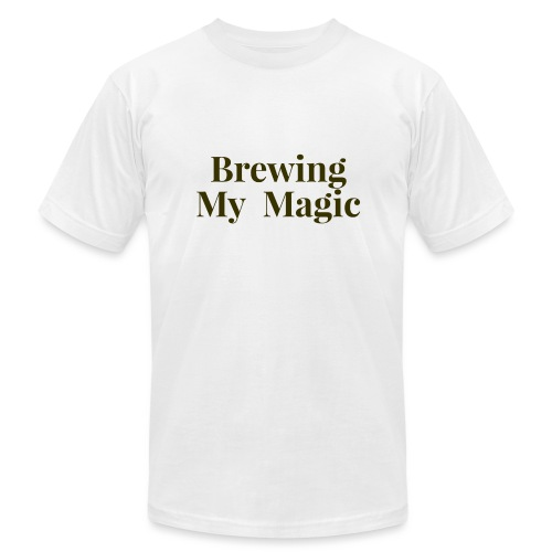 Brewing My Magic Women's Tee - Unisex Jersey T-Shirt by Bella + Canvas