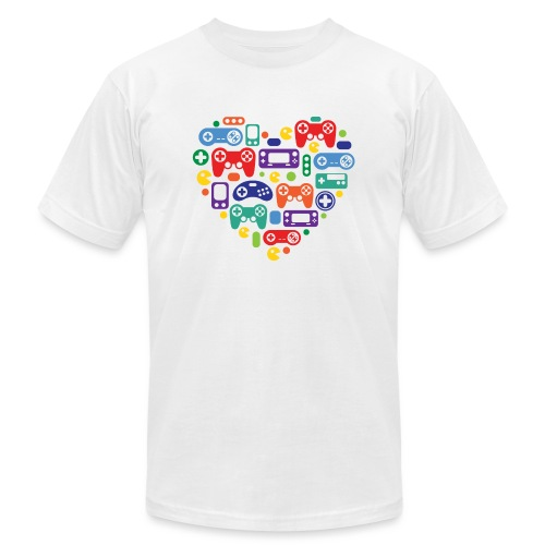 Video Game Love - Unisex Jersey T-Shirt by Bella + Canvas