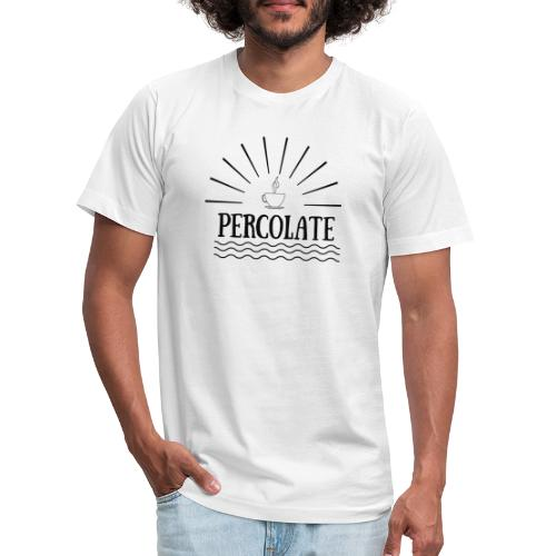 Percolate - Unisex Jersey T-Shirt by Bella + Canvas
