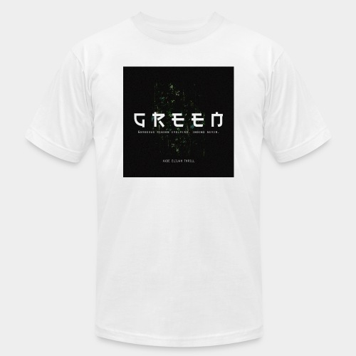 Green/Gorgeous reason evolving, ending never - Men's Jersey T-Shirt