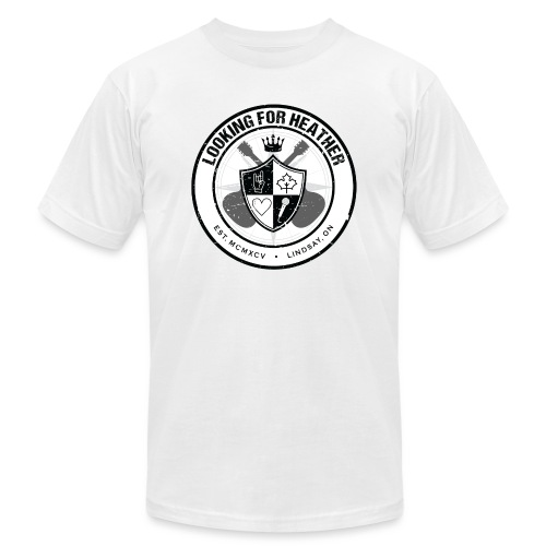 Looking For Heather - Crest Logo - Unisex Jersey T-Shirt by Bella + Canvas