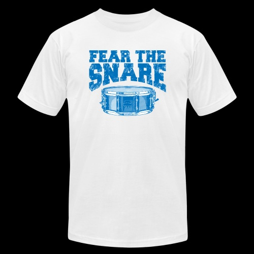 FEAR THE SNARE - Unisex Jersey T-Shirt by Bella + Canvas