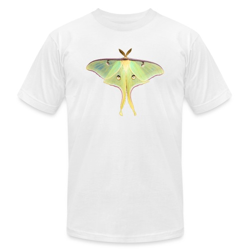 GREEN LUNA MOTH - Unisex Jersey T-Shirt by Bella + Canvas