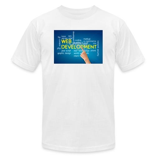 web development design - Men's Jersey T-Shirt