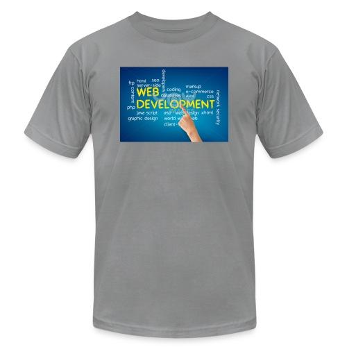 web development design - Unisex Jersey T-Shirt by Bella + Canvas