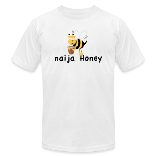 naija honey... - Unisex Jersey T-Shirt by Bella + Canvas