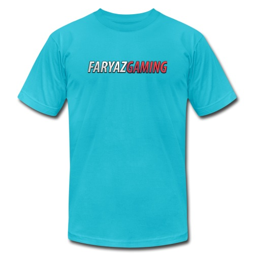 FaryazGaming Text - Unisex Jersey T-Shirt by Bella + Canvas