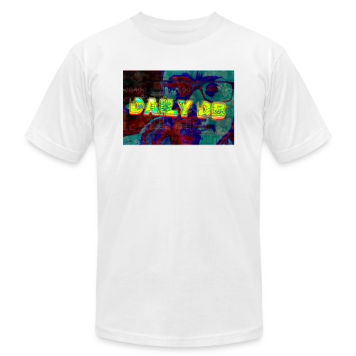 daily db poster - Unisex Jersey T-Shirt by Bella + Canvas