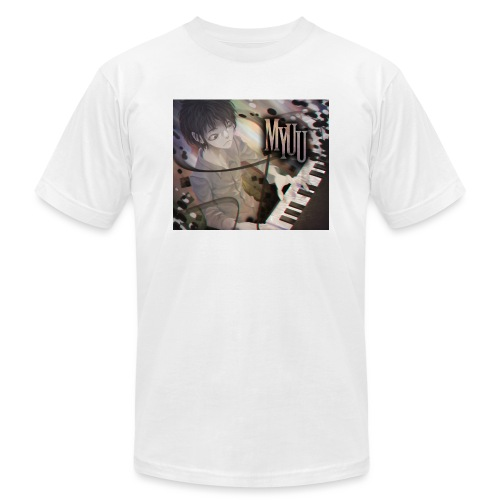 Dark Piano 1 - Unisex Jersey T-Shirt by Bella + Canvas