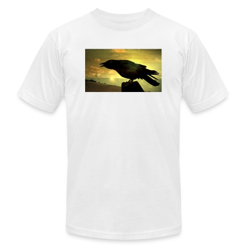 Black Crow - Unisex Jersey T-Shirt by Bella + Canvas