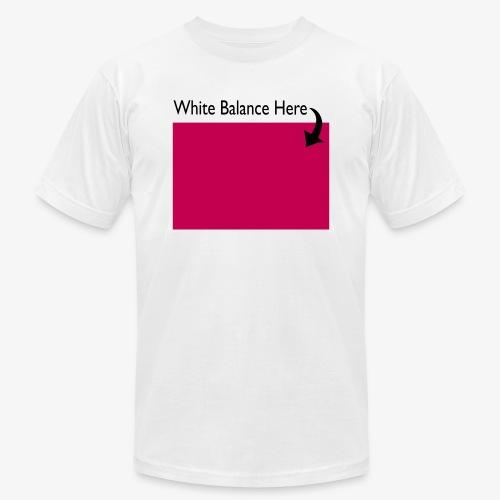 White Balance - Unisex Jersey T-Shirt by Bella + Canvas