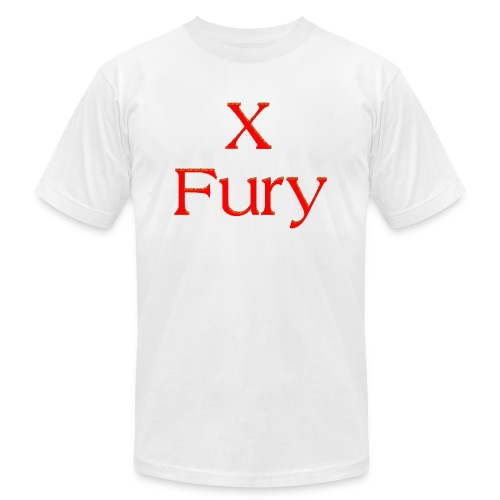 X Fury - Unisex Jersey T-Shirt by Bella + Canvas
