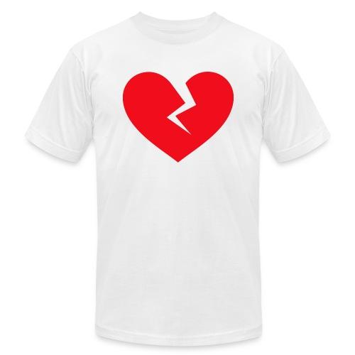 Broken Heart - Unisex Jersey T-Shirt by Bella + Canvas