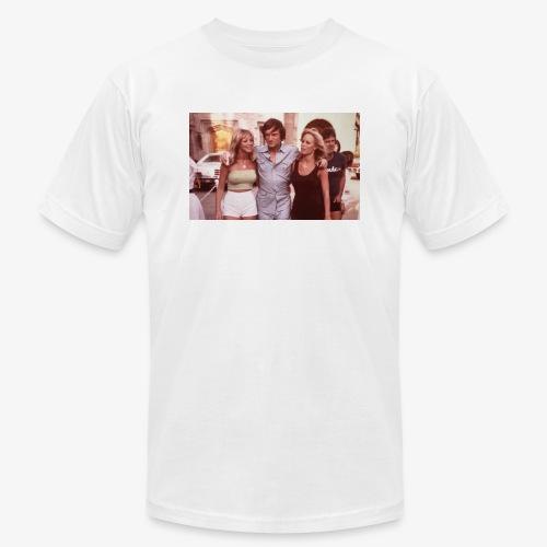 Hugh Hefner - Unisex Jersey T-Shirt by Bella + Canvas