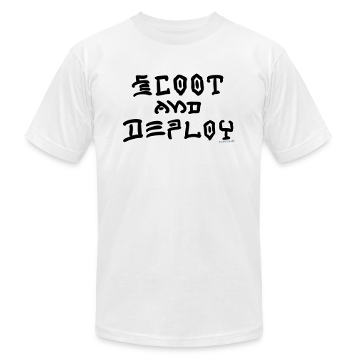 Scoot and Deploy - Unisex Jersey T-Shirt by Bella + Canvas