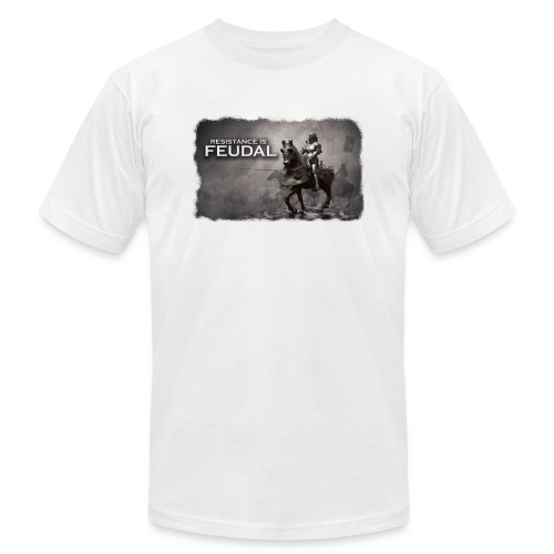 Resistance is Feudal 2 - Unisex Jersey T-Shirt by Bella + Canvas