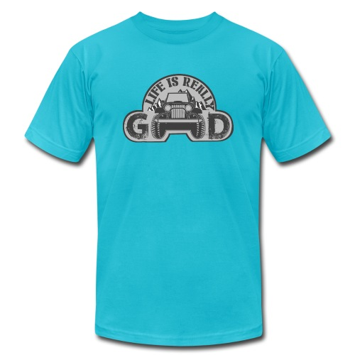 Life Is Really Good Jeep - Men's Jersey T-Shirt