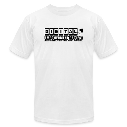 The DEP Premiere Logo Black - Unisex Jersey T-Shirt by Bella + Canvas