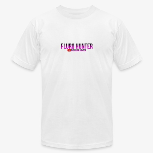The Fluro Hunter Black And Purple Gradient - Unisex Jersey T-Shirt by Bella + Canvas