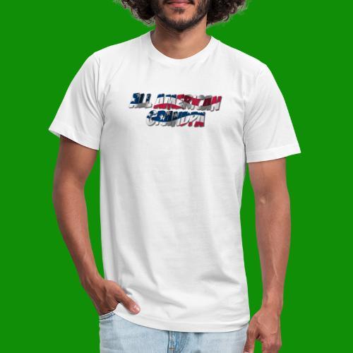 ALL AMERICAN GRANDPA - Unisex Jersey T-Shirt by Bella + Canvas
