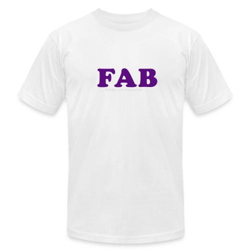 FAB Tank - Unisex Jersey T-Shirt by Bella + Canvas
