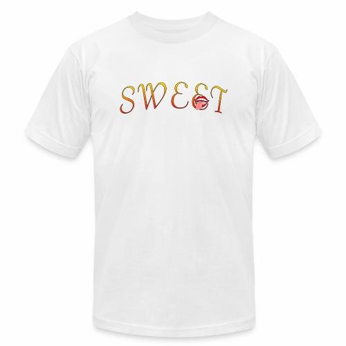 Sweet - Unisex Jersey T-Shirt by Bella + Canvas