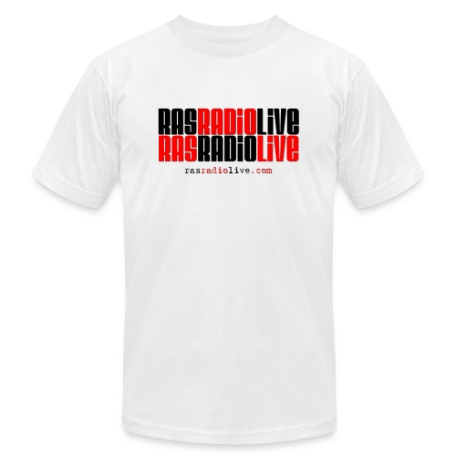 rasradiolive png - Unisex Jersey T-Shirt by Bella + Canvas
