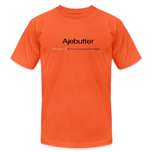 ajebutter - Unisex Jersey T-Shirt by Bella + Canvas