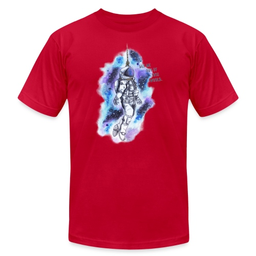 Get Me Out Of This World - Men's Jersey T-Shirt