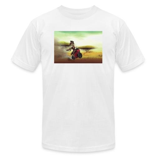 Chaka Zulu en roue arrière!! - Unisex Jersey T-Shirt by Bella + Canvas